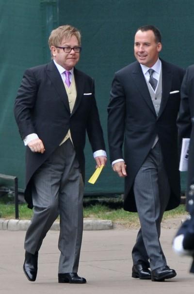 Elton John s partnerem Davidem Furnishem