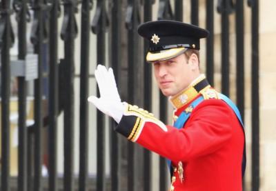 William ve Westminsterském opatství